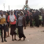 Women, Youths Storm Streets In Large Numbers To Protest Killing In Southern Kaduna (photos)