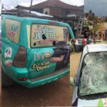 Ondo election: Many injured, over 20 vehicles, motorcycles destroyed as APC, PDP supporters clash in Owo (PHOTOS)