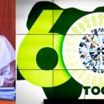 PHOTOS: Buhari Unveils 'Nigeria At 60' Anniversary Logo, Ahead Of Independence Day