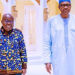 Buhari, Ghanaian President Akufo-Addo Meet In Aso Rock