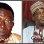 Gov. Lalong felicitates with rtd-Gen. Dogonyaro at 80
