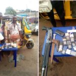 PHOTOS: Police Arrest Two Notorious 'One Chance' Armed Robbers In Anambra