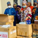 Kogi First Lady, distributes medica items from Future Assured to state Specialist Hospital in Lokoja