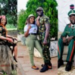 Lovely Pre-Wedding Photos Of A Soldier And His Corper Fiancée
