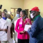 JUST IN: INEC Presents Certificate Of Return To Obaseki, Shaibu (photos)