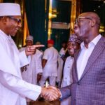 Breaking News: Obaseki Visits Buhari, Says It Will Be Immoral To Return To APC