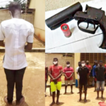 16-yr-old Boy Caught With Double-Barreled Gun In Anambra School (photos)
