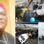 Lagos Train Accident: How Trader Lost His Life While Saving Son's Life (Photos & Video)