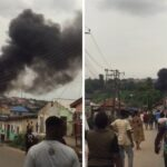 BREAKING: Barely 24hours After Lokoja Explosion, Another Inferno Hits Lagos, Ogun Communities (video)