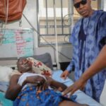 Convoy Attack: Governor Zulum Visits Surviving Victims In Hospital, Condoles With Deceased Family (Photos)