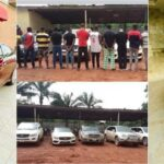 Photos: Accused Fraudster, Bitcoin Lord Shows Off Newly Acquired Car, Days After Release From EFCC Custody