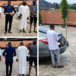 EFCC Arrests Brothers, Three Others For Alleged Internet Fraud In Ibadan, Recovers 4 Cars, Laptops (PHOTOS)