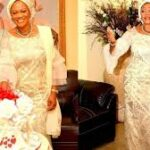Bola Tinubu Smiles With Wife, Senator Oluremi As They Celebrate Her 60th Birthday (Photos)