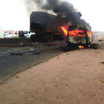 8 burnt to death in Lagos-Ibadan expressway accident (photos)