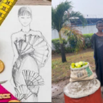 Photos: Man Shares Heartbreaking Story Of A Former Designer Who Now Sells Oranges For A Living