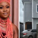 Nollywood Actress, Olayinka Solomon Becomes A Mansion Owner In Lagos
