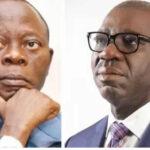 Edo: Obaseki, Oshiomhole renew verbal war