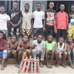 Police Arrest 17 Suspected Armed Hoodlums Terrorizing Lagos Residents (SEE THEIR NAMES & AGE)