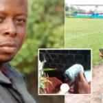 Photos: Popular Nollywood Director Nonso Ekene, Gateman Arrested Over Murder Of Neighbor As Police Exhume Corpse