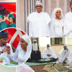 Buhari's Daughter Hanan Marries Heartthrob Muhammad Turad Shaaban In First Aso Villa Wedding (PHOTOS)