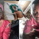 """Photos: Widow Whose Son Was Allegedly Killed By Osun Police Officer Month To Graduation Cries, Says """"World Has Ended"""""""