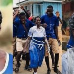 57-Year-Old Woman Celebrates Her Graduation From Junior Secondary School (Photos)