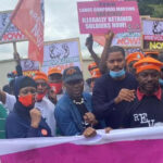 #RevolutionNow Protesters Storm US Embassy, Demand Buhari's Resignation