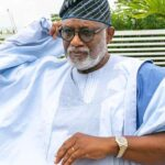 Police Arrest Four Suspected Arsonists Involving In The Burning Of Akeredolu's Office