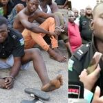 Police Parade Hoodlum Who Attacked Police Station And Went Away With The DPO's Uniform (photos & video)
