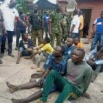 Hoodlums invade Sen Folarin's house, police arrest 7 suspects