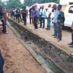 Corpse Of A Woman Found Dumped Inside Drainage In Benue (photos)