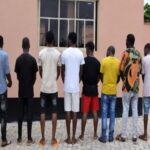 EFCC Nabs 10 Suspected 'Yahoo' Boys In Oyo