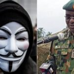 #EndSARS: Anonymous Hackers Shut Down Nigerian Army Website