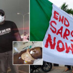 PHOTOS: #EndSARS Protester Stabbed By Thugs In Abuja Has Died