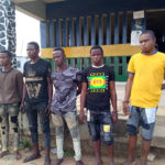 Five Suspected Traffic Robbers Arrested In Lagos