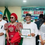 Breaking: INEC Issues Certificates Of Return To Akeredolu, Deputy Gov In Ondo