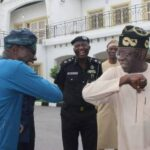 Breaking: Tinubu didn't travel out, visits Sanwo-Olu in Marina (Videos)