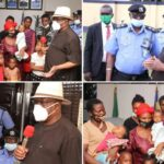 Gov Wike Pledges N20m Compensation To Family Of Policemen, Soldiers Slain By IPOB Members (photos)