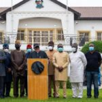 PHOTOS: Lagos Coordinated Attacks An Attempt To Weaken Southwest Economy – Governors