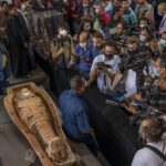 Egypt discovers 2,500-year-old tomb containing at least 100 mummies (PHOTOS)