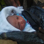 Abandoned Baby Found By The Roadside In Akure (photos)