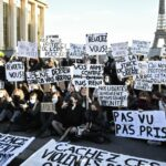 Watch: Demonstrators in Paris protest new French law criminalising police images
