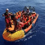 French ship pulls 45 migrants from Channel