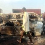 Many Vehicles Razed In Tanker Accident On Lagos-Ibadan Expressway (PHOTOS)