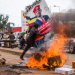 More than a dozen killed in Uganda protests over arrest of opposition leader