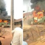 PHOTOS: Army Officer Killed As Security Agents, Smugglers Clash In Oyo