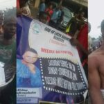 Photos & Video: Anambra Pastor Stripped And Paraded In Village After He Was Allegedly Caught With Charms