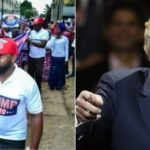 US 2020: Donald Trump Reacts As Nigerians Hold Rally In His Support