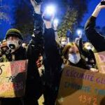 Anger at police beating galvanises French protests against security bill