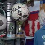 Underground Maradona museum in Naples pays tribute to football legend